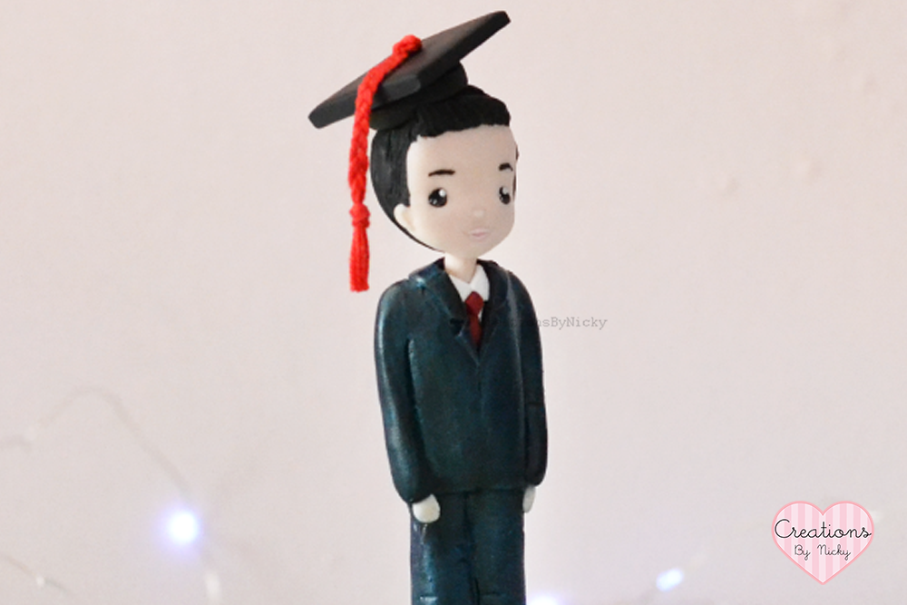 Cake topper laureato